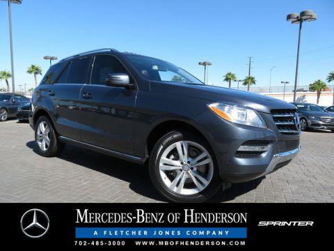 Certified Pre-Owned 2015 Mercedes-Benz ML 350 4MATIC®