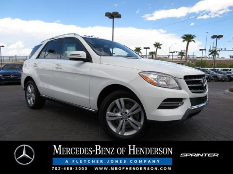 Certified Used Mercedes-Benz M-Class ML 350