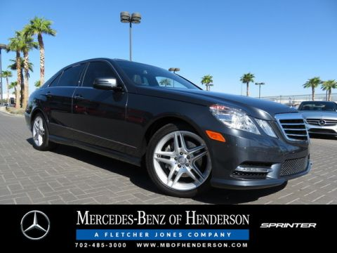Certified Used Mercedes-Benz E-Class E 350 Luxury