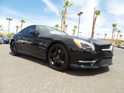 Certified Pre-Owned 2015 Mercedes-Benz SL-Class SL 550 Convertible