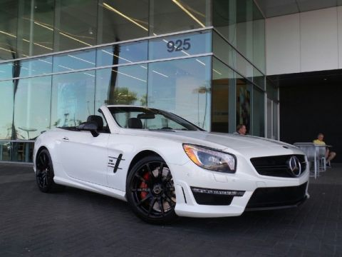 Certified Pre-Owned 2013 Mercedes-Benz SL-Class SL 63 AMG® Convertible