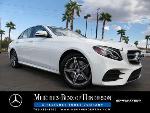 Certified Pre-Owned 2017 Mercedes-Benz E-Class E 300 Sport