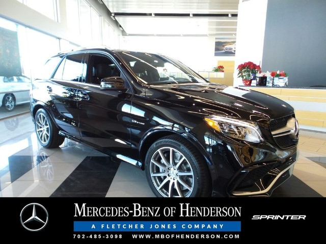 New 2017 mercedes benz gle amg gle 63 sport utility in for Mercedes benz henderson
