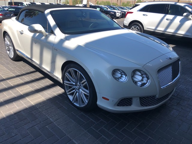 Pre Owned 2014 Bentley Continental GT Speed