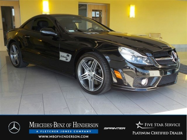 Pre-Owned 2009 Mercedes-Benz SL-Class SL63 AMG Rear Wheel Drive Convertible