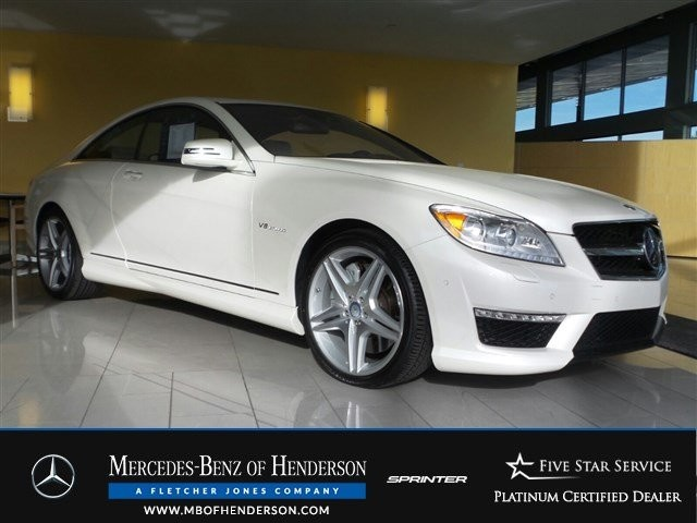 Certified Pre-Owned 2013 Mercedes-Benz CL-Class CL63 AMG Rear Wheel Drive Coupe
