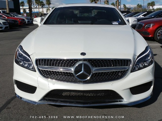 New 2017 mercedes benz cls cls 550 coupe in henderson for Henderson mercedes benz