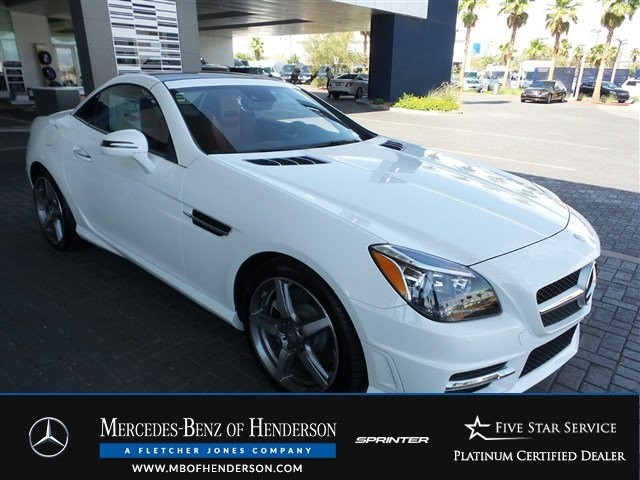 Pre-Owned 2015 Mercedes-Benz SLK SLK250 Rear Wheel Drive Convertible