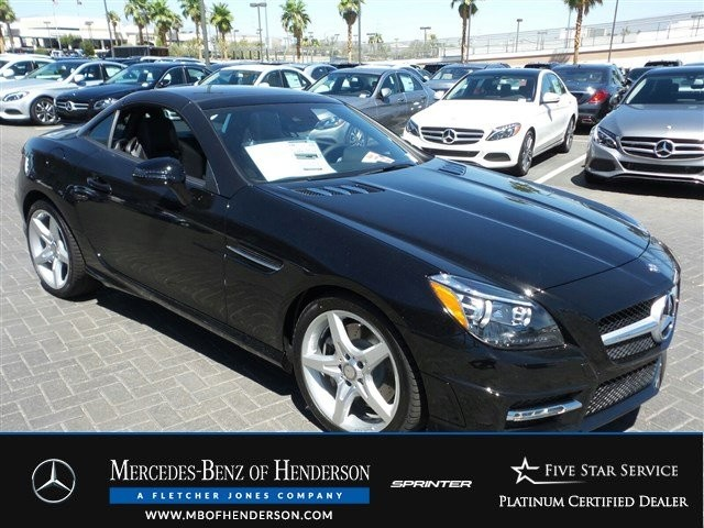 Pre-Owned 2015 Mercedes-Benz SLK SLK350 Rear Wheel Drive Convertible