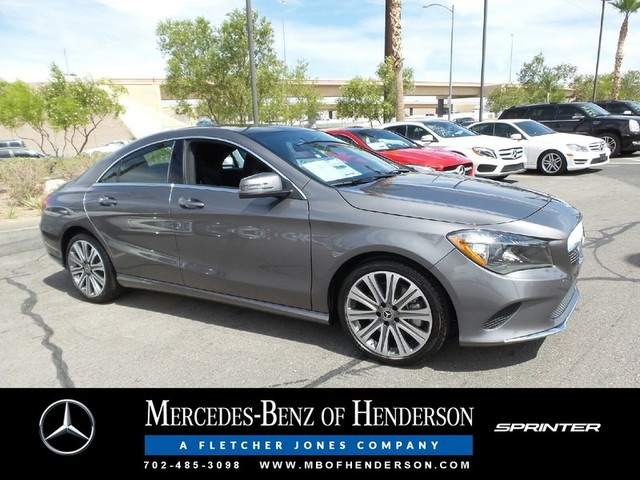 New 2018 mercedes benz cla cla 250 coupe in henderson for Mercedes benz henderson