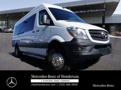 New 2017 Mercedes-Benz Sprinter MXSLEX - 3500XD Smartliner Pass. 3500 Liner Shell Van