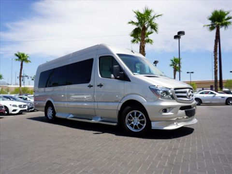 Pre-Owned 2018 Mercedes-Benz Sprinter Cab Chassis 3500 Cargo Van