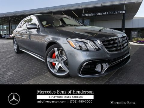 New 2019 Mercedes-Benz S-Class AMG® S 63 Long Wheelbase 4MATIC